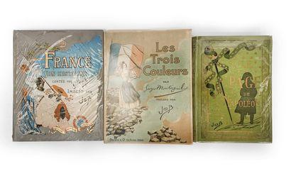 Ensemble de trois ouvrages comprenant : -...