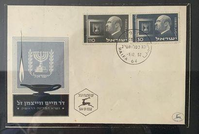 Lettre de deuil affranchie en 1952 en l'honneur...