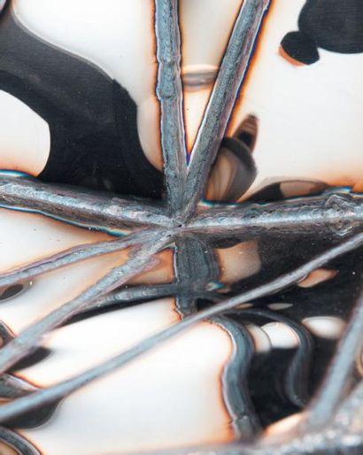 JULIAN MAYOR Production d'atelier Chaise Fernando Acier poli miroir Numérotée 8/8...