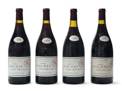 4 Magnums de Volnay 1er Cru Clos des Ducs...