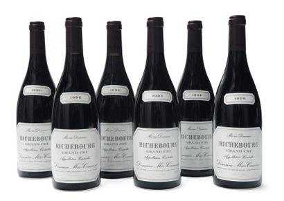 6 Bouteilles de Richebourg Grand Cru - Méo-Camuzet...
