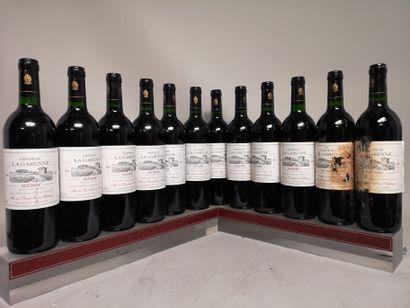 12 bouteilles Château LA GARENNE - Pomerol...