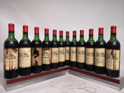 12 bouteilles Château BARATEAU - Haut Médoc...