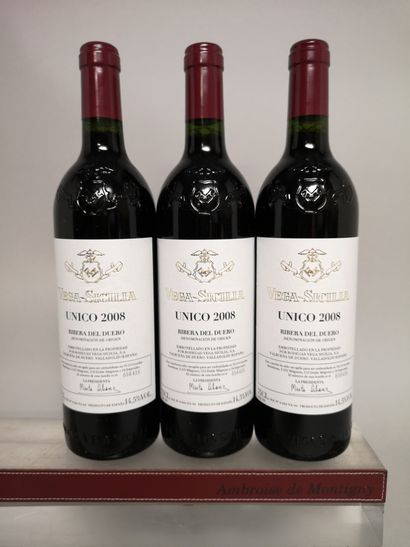3 bouteilles VEGA SICILIA UNICO - Ribera...
