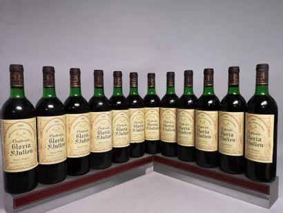 12 bouteilles Château GLORIA - St. Julien...