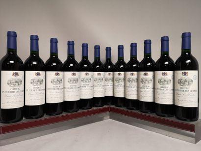 12 bouteilles Château La TUILERIE des COMBES...