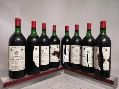 8 magnums Château LABEGORCE ZEDE - Margaux...