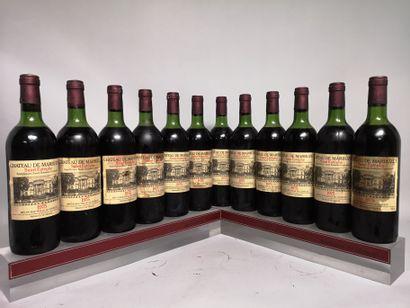 12 bouteilles Château de MARBUZET - Saint...