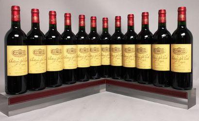 12 bouteilles Château Le CROCK- Saint Estèphe...