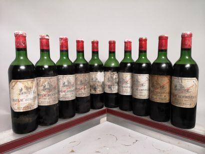 10 bouteilles Château BEYCHEVELLE - 4e Gcc...
