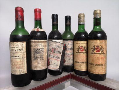 6 bouteilles BORDEAUX DIVERS A VENDRE EN...