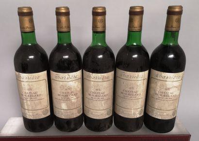 6 bouteilles Château BEAUREGARD - St. Julien...