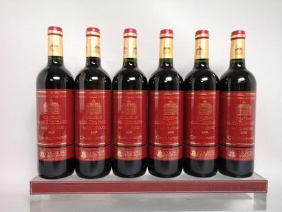 6 bouteilles Château LAROSE TRINTAUDON -...