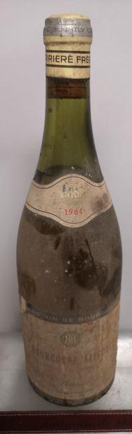 1 bouteille BOURGOGNE ALIGOTE - Antoine BARRIER...