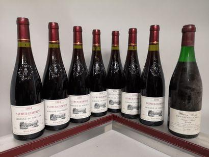 8 bouteilles VINS DIVERS BOUZY et LOIRE A...