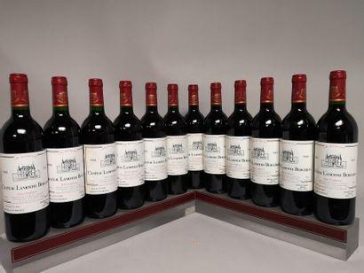 12 bouteilles Château LAMOTHE BERGERON -...
