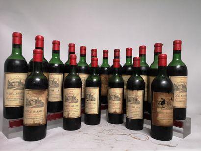 18 bouteilles Château BARATEAU - Haut Médoc...