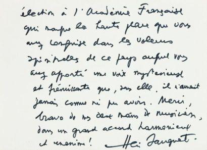 SAUGUET Henri (1901-1989)