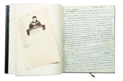 JULIEN GREEN LÉVIATHAN Manuscrit autographe signé et daté, environ 255 pages in-4,...