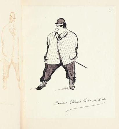 JULIEN GREEN LES CLEFS DE LA MORT Manuscrit autographe d'environ 80 pages in-4. Belle...