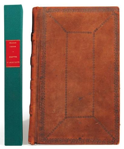 NORRIS-GREEN Savannah, 1850/1861 Volume manuscrit de 153 pages in-folio compilé à...