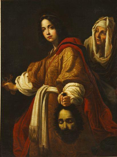 CLARDI (ÉCOLE FLORENTINE DE LA FIN DU XIXE SIÈCLE) Judith et la tête d'Holopherne...