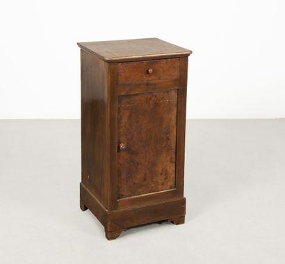 Table de chevêt rustique H_75 cm L_39 cm...
