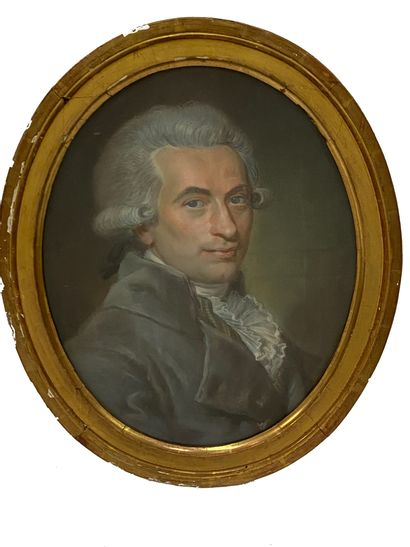 Ecole Française du XIXe siècle Portrait d'un...