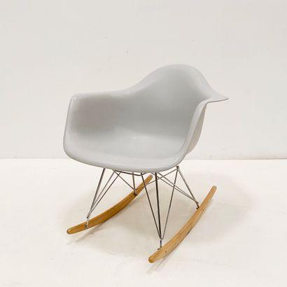D'après Charles & Ray Eames Rocking chair...