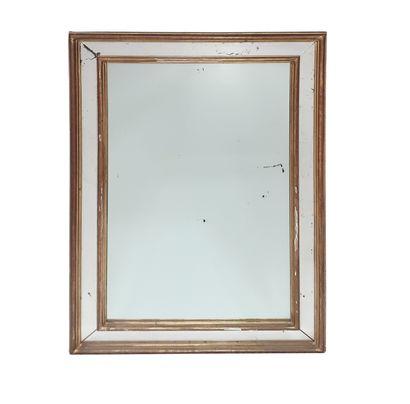 Miroir en bois doré H_90 cm L_60 cm
