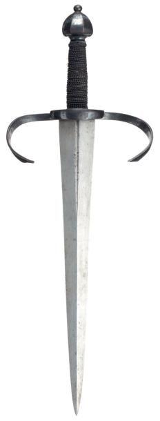 Belle dague main-gauche, Saxe, fin XVIe siècle....