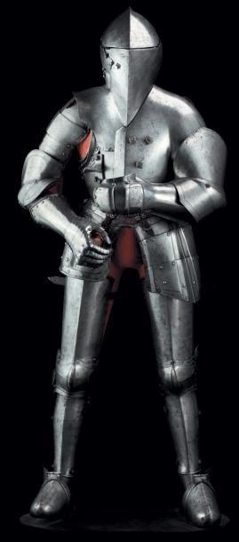 Très rare armure pour la joute « à l'italienne...