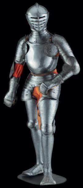 Rare armure complète de bataille pour combattre...