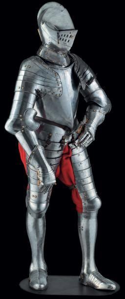 Armure complète de bataille, en partie d'Augsbourg...