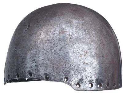 Casque de siège, XVIe - XVIIe siècle. A siege helmet, 16th - 17th century. Of great...