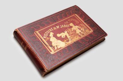 Histoire de Mr Jabot, Genève 1833  Reliure...