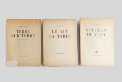 Ensemble de 3 livres des Editions Trois Collines:...