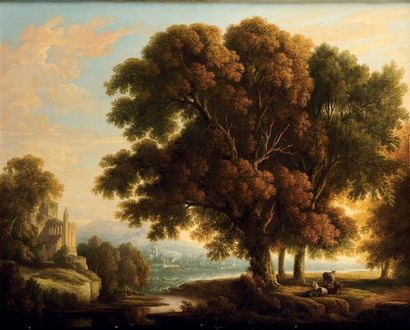 ATTRIBUÉ À JOHANN BERNARD KLOMBECK (1815-1893)
