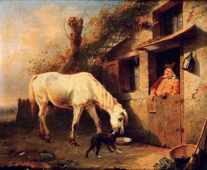 ECOLE ANGLAISE, SUIVEUR DE GEORGES MORLAND (1763-1804)