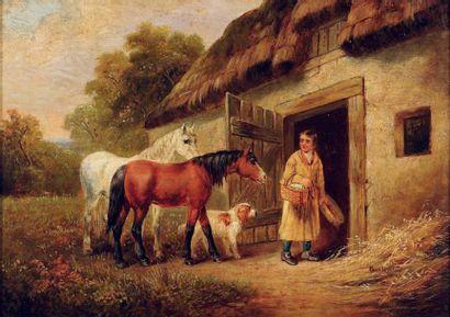 ECOLE ANGLAISE DU XIXE SIÈCLE, SUIVEUR DE GEORGES MORLAND (1763-1804)