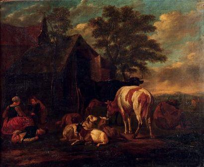 PETER VAN BLOEMEN (1657-1720)