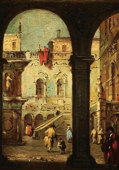 ATTRIBUÉ À GIACOMO GUARDI (VENISE, 1764-1835)
