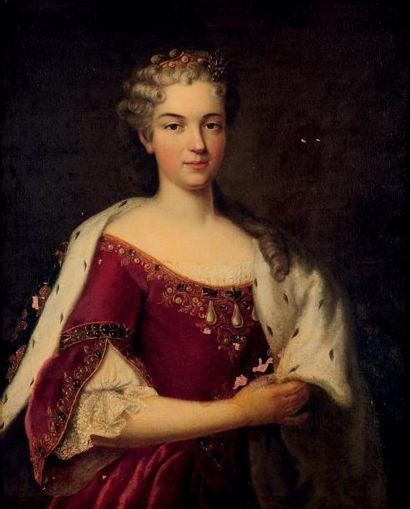 ECOLE FRANÇAISE VERS 1760, SUIVEUR DE LOUIS MICHEL VAN LOO