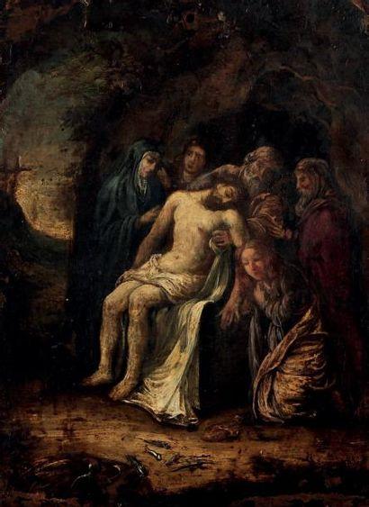 ATTRIBUÉ À À BARTHOLOMÉUS - JOHANNES VAN HOVE (La Haye 1790-1880)