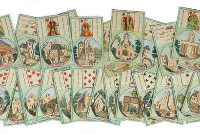 Cartes à jouer. Sans lieu ni date [vers 1836]....