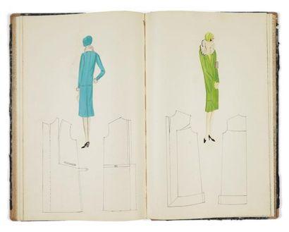 Cours de couture manuscrit. Sans lieu ni...
