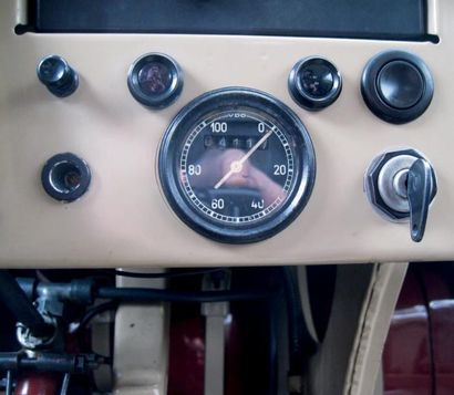 VOLKSWAGEN Schwimmwagen 166 - 1944 Châssis: n° 11691 Titre de circulation français...