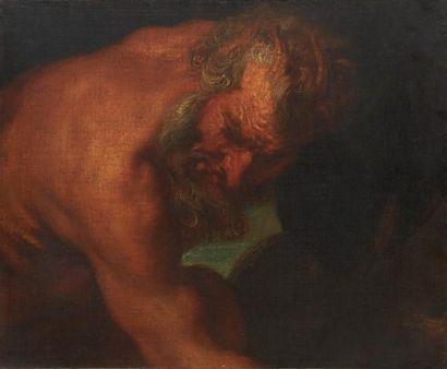 ECOLE FLAMANDE VERS 1700, SUIVEUR D'ANTOINE VAN DYCK