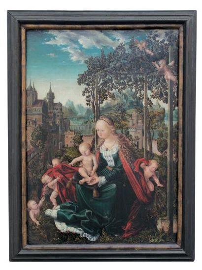 ECOLE DE NUREMBERG VERS 1530