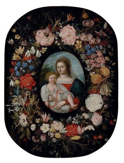 ECOLE FLAMANDE VERS 1640, ENTOURAGE DE JAN II BRUEGHEL